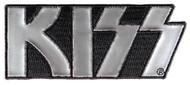 KISS Patch - Silver Logo
