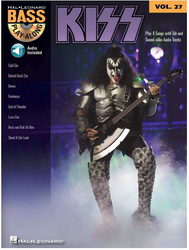 KISS Bass Play-Along Songbook and CD, vol. 27