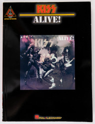 KISS Song Book - Alive!