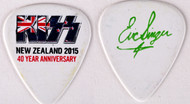 KISS Guitar Pick - New Zealand 2015, Eric Singer