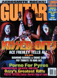 KISS Magazine - Guitar World 8/93, Ace Frehley