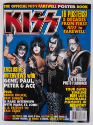 KISS Magazine - Official KISS Farewell Poster Book, 16 posters