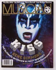 KISS Magazine - Musician, Gene 1996