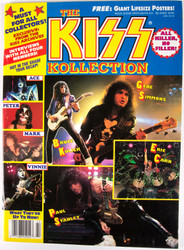 KISS Magazine - The KISS Kollection, May 1991 - MISSING POSTER