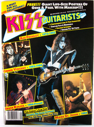 KISS Magazine - KISS Guitarists, 1989