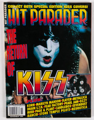 KISS Magazine - Hit Parader, The Return of KISS 1998, Paul