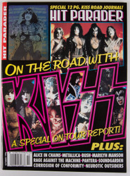 KISS Magazine - Hit Parader, On the Road with KISS 1996, (Gene hologram)