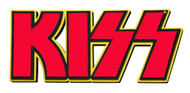 "KISS 3D Logo Foam Wall Sign, 22"" - Red"
