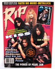 KISS Magazine - RIP 1992