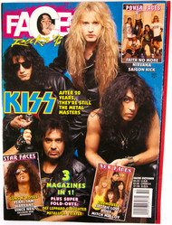 KISS Magazine - Faces, October 1992
