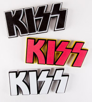 "KISS Magnets - 3D Logo Foam, 9"" MAGNET"