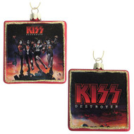 KISS Christmas Ornament - Glass Destroyer