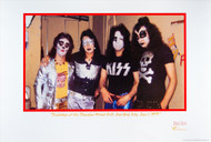 KISS Lithograph - Bleeker St. Loft 1973