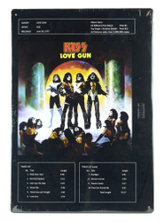 KISS Metal Sign - Love Gun