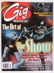 KISS Magazine - Gig Magazine 2000