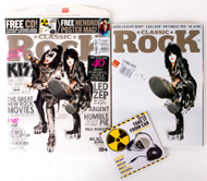 KISS Magazine - Classic Rock May 2010, Paul and Gene