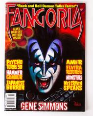 KISS Magazine - Fangoria, November 2010, w/poster
