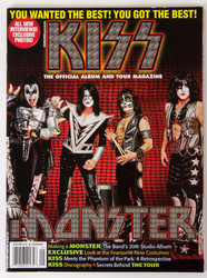 KISS Magazine - Monster official Tour Magazine, 2012