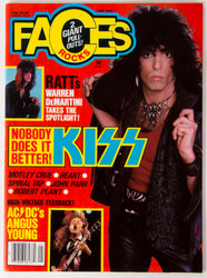 KISS Magazine - Faces January 1986, (8/10)