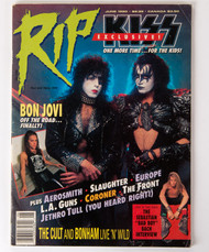 KISS Magazine - RIP, 1990 Paul and Gene