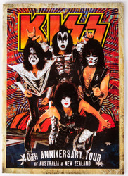 KISS Tourbook - 40th Anniversary, Australia / New Zealand