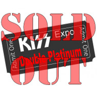 New Jersey KISS Expo 2016 Tickets - DOUBLE PLATINUM VIP (pre-order tickets picked up at show)