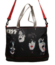 KISS Tote Bag - Rock and Roll
