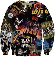 KISS Sweat Shirt - Discography