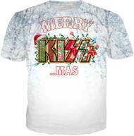 KISS T-Shirt - KISSmas Logo, (all-over print)