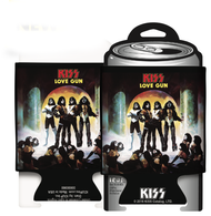 KISS Can Cooler Huggie - LOVE GUN.
