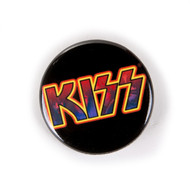 KISS Button - KISS Photo in Logo