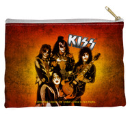 KISS Travel / Accessory Pouch - KISS Alive Fire