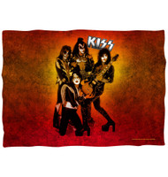 KISS Pillow Case - Alive Fire