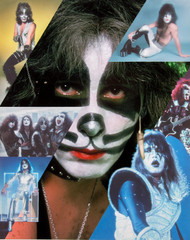 KISS Photograph - Butterfield's Auction 8 x 10, Peter Criss
