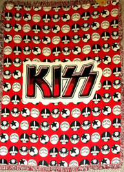 KISS Blanket - Icons Weave