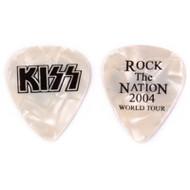 Kiss Guitar Pick - Rock the Nation, Pearl