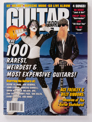 KISS Magazine - Guitar World, Ace 5/97