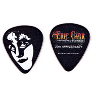 Eric Carr Guitar Pick - Unfinished Business Promo, (black)