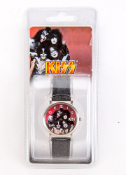 KISS Watch - Red Face, official 2000