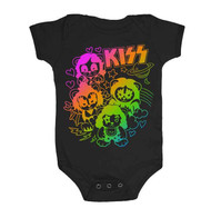 KISS Infant Onesie - Rainbow Bears