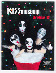 KISS Magazine - KISS Museum Catalog Christmas 2003
