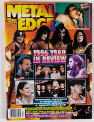 KISS Magazine - Metal Edge, 1996 Year in Review