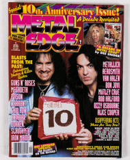 KISS Magazine - Metal Edge, 10th Anniversary 1996