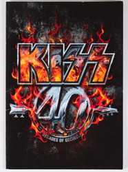 KISS Tourbook - 40th Anniversary