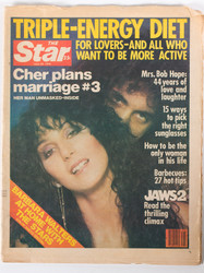 KISS Magazine - The Star Tabloid 1978, Cher and Gene