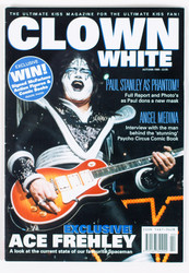 KISS Magazine - Clown White Autumn 1999, Ace