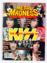 KISS Magazine - Metal Madness, The Might and Magic of KISS, 1989