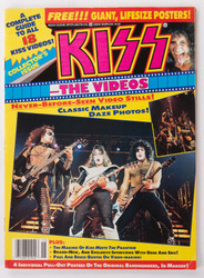 KISS Magazine - KISS The Videos,  1990