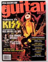 KISS Magazine - Guitar School 1992 with Gene