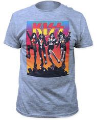 KISS T-Shirt - Destroyer Blue